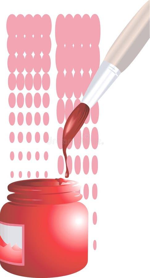 Colour stock illustration