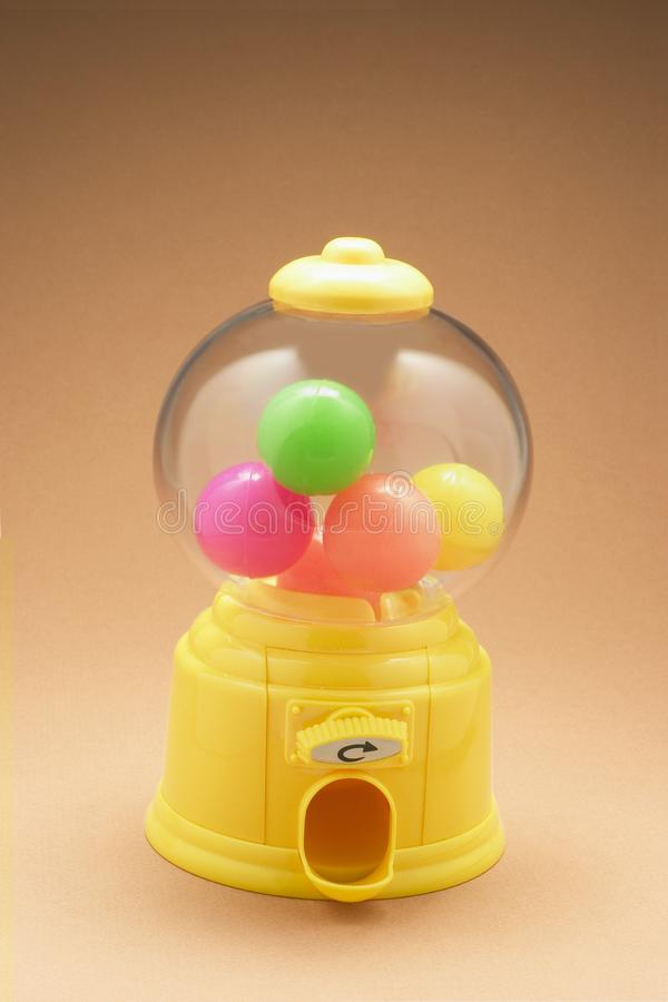 Colour Balls in Bubblegum Machine royalty free stock images