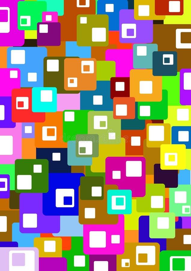 Colour blocks royalty free stock photos