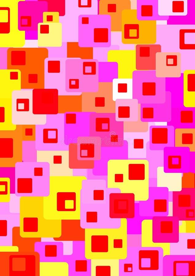 Colour blocks 2 royalty free stock photography