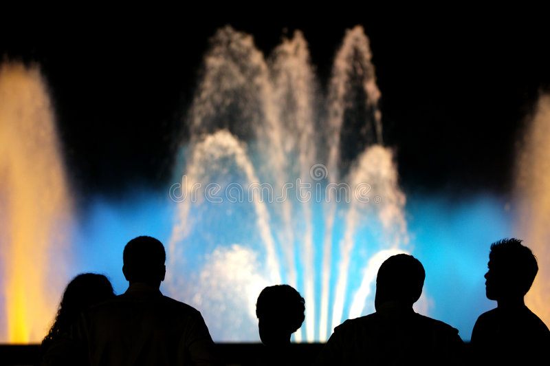 Download Colour Fountains stock image. Image of party, color, colour - 5857291