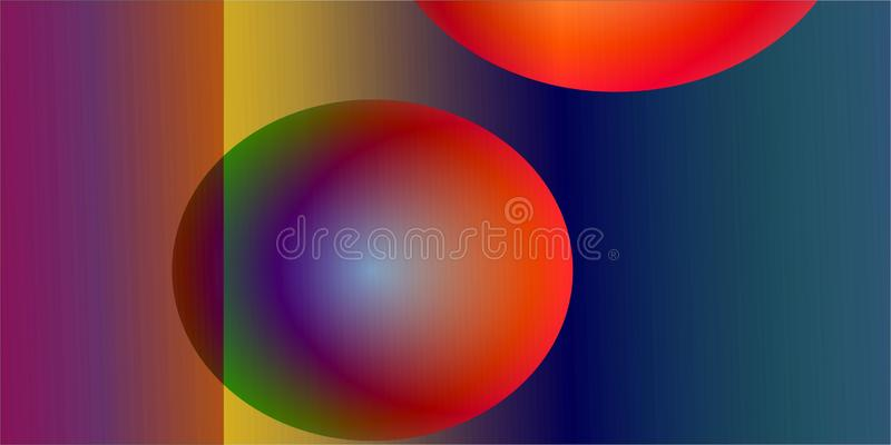 Colour full Abstract Background for your Design work. Background of circles with colours royalty free illustration