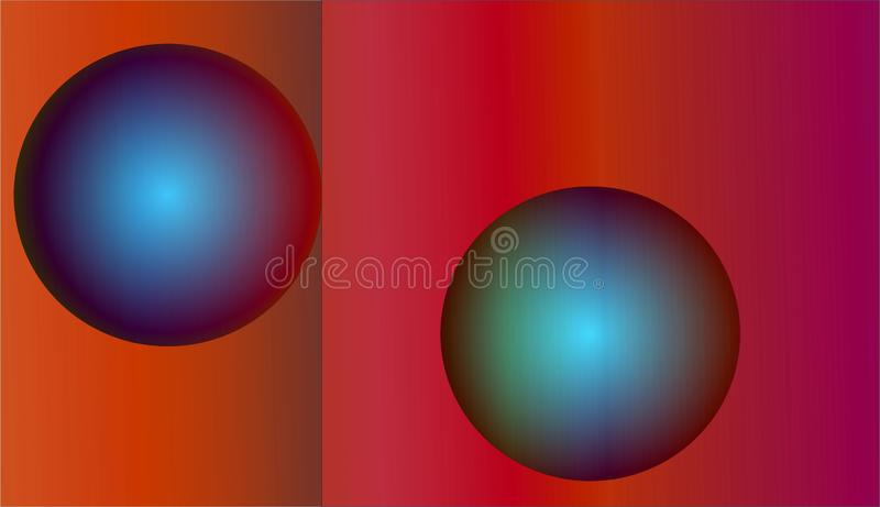 Colour full Abstract Background for your Design work. Background of circles with colours stock illustration