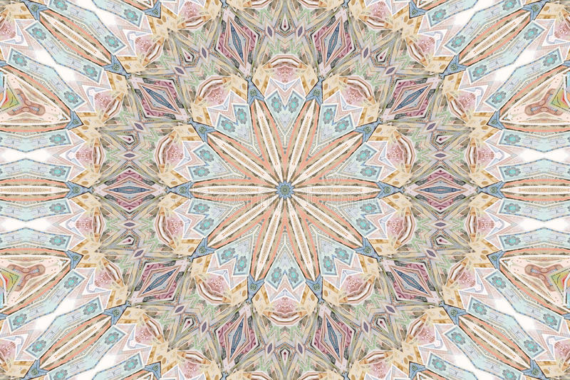 colour kalejdoskopu wzór fotografia royalty free