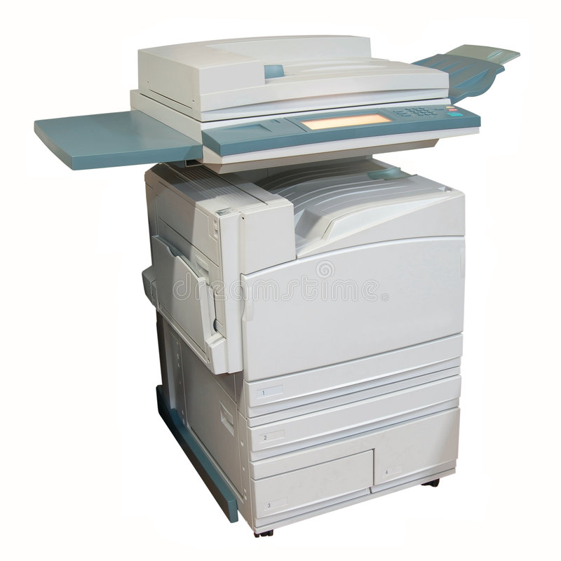 Colour Laser Copier Royalty Free Stock Image