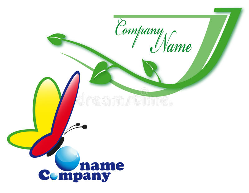 Download Colour logo stock vector. Image of name, logo, branch - 14776104