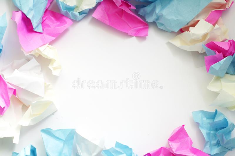 Colour Paper royalty free stock photo