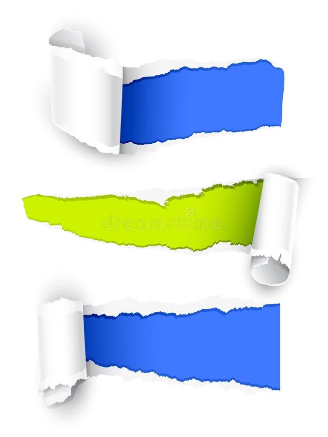colour papier ilustracji
