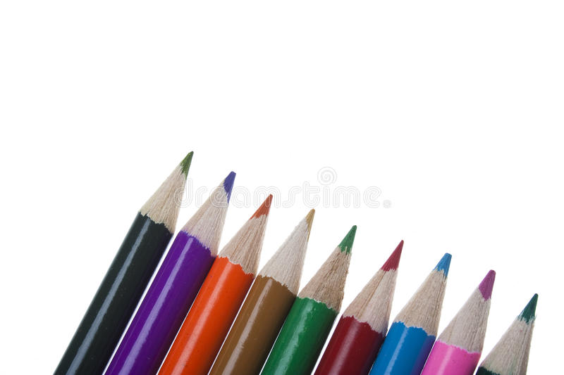 Download Colour pencils stock photo. Image of close, colorful - 25894220