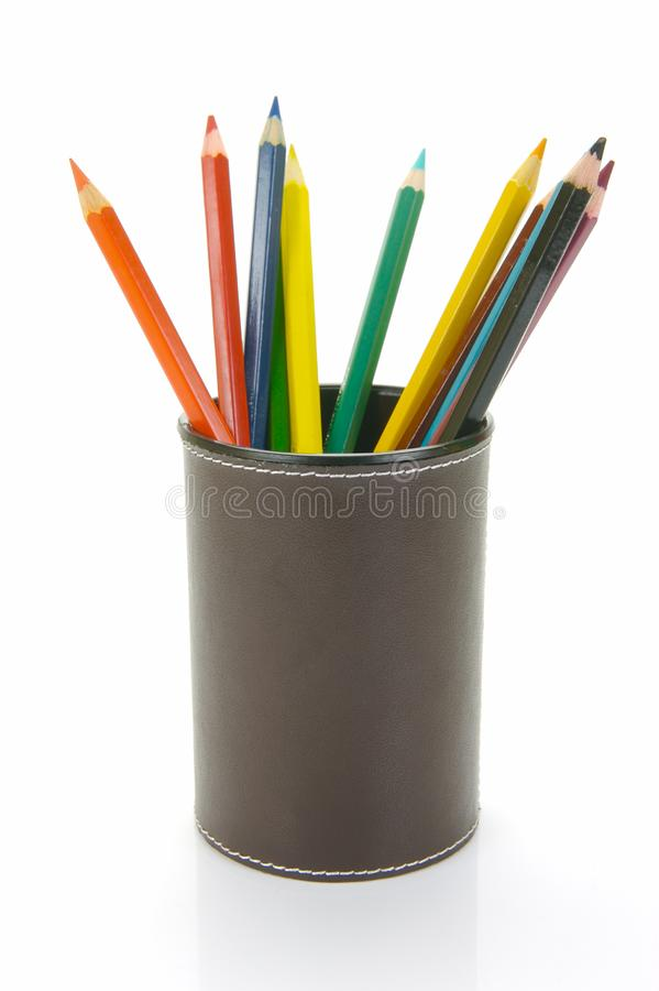 Download Colour Pencils stock image. Image of objects, play, child - 9619425