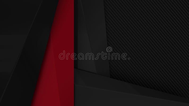 Colour prezentaci akcentuacyjny korporacyjny tło ilustracja wektor