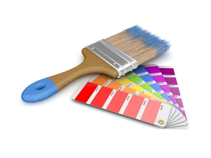 Colour sampler ilustracja wektor