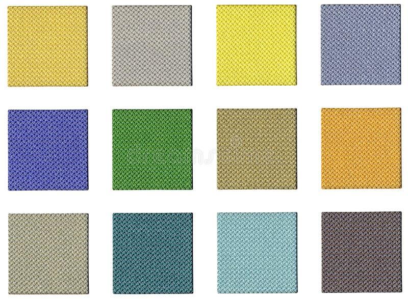 Colour sampler stock illustration