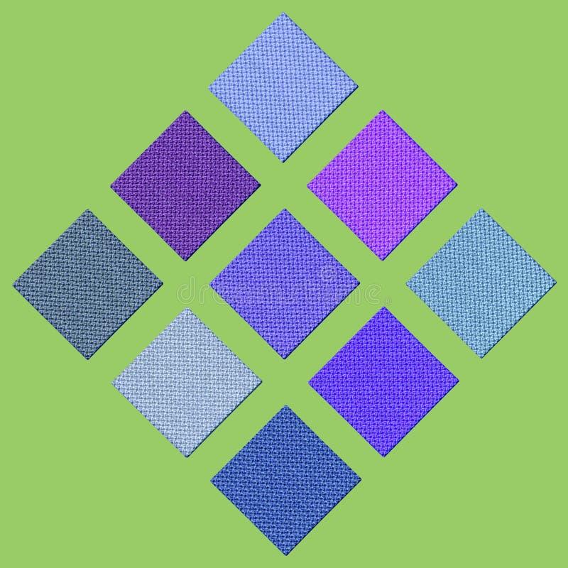 Colour sampler vector illustration