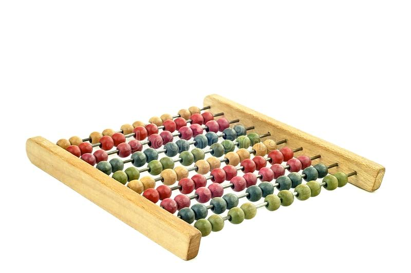 Coloured abacus royalty free stock photos