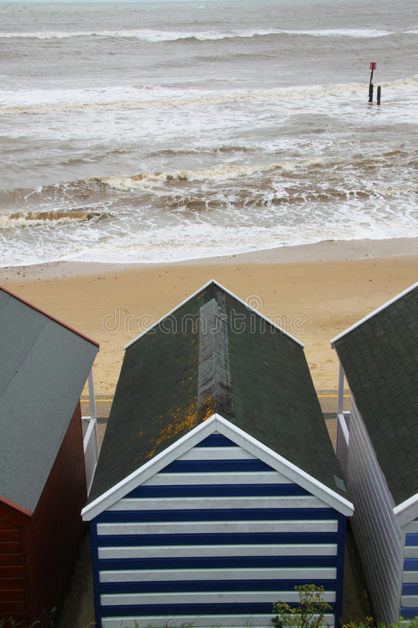 Download A coloured beach hut stock photo. Image of british, traditional - 73453118