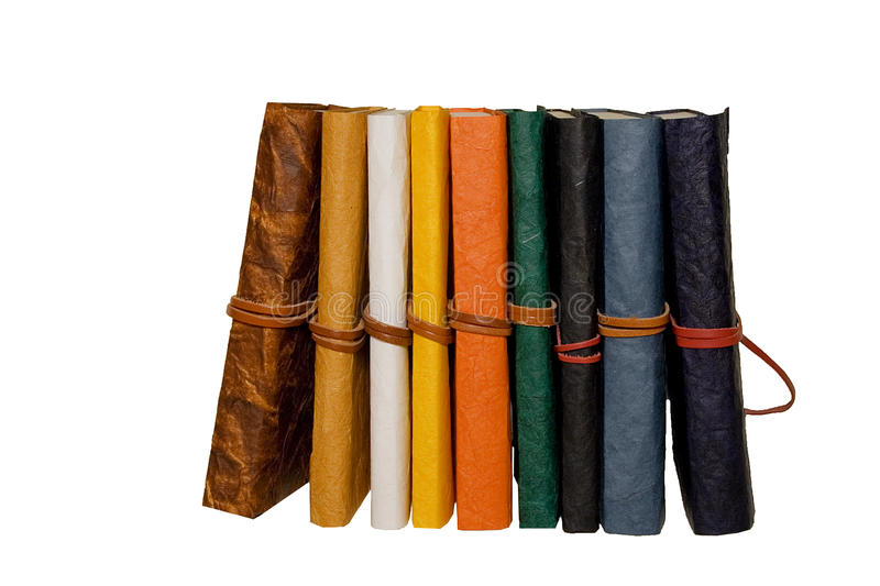 Download Coloured Diaries In A Row Stock Photography - Image: 11997672