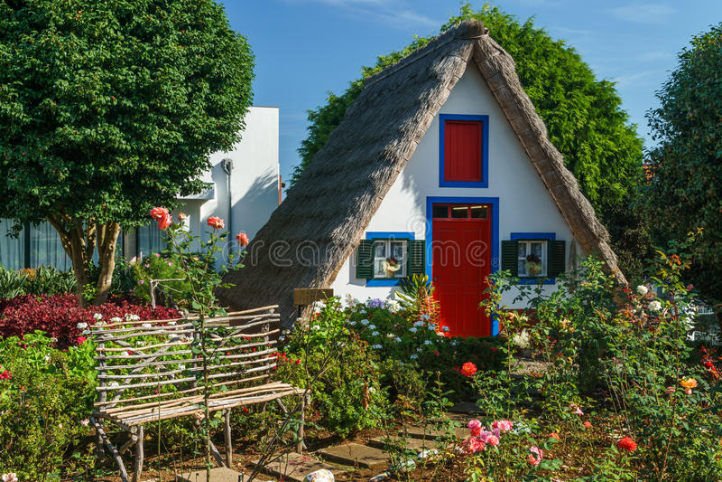 Coloured dom obraz stock