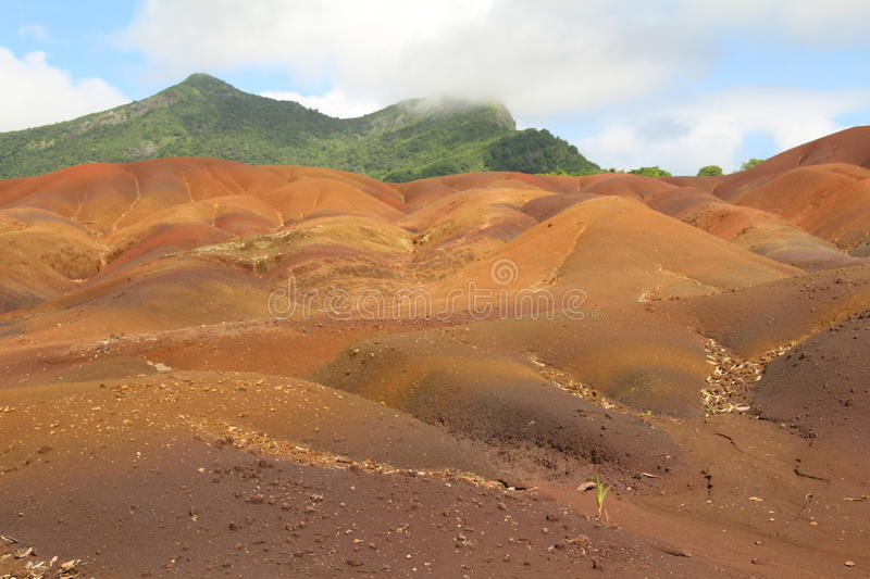 Coloured earth stock photography