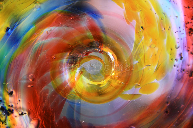 Coloured Glass Stock Image