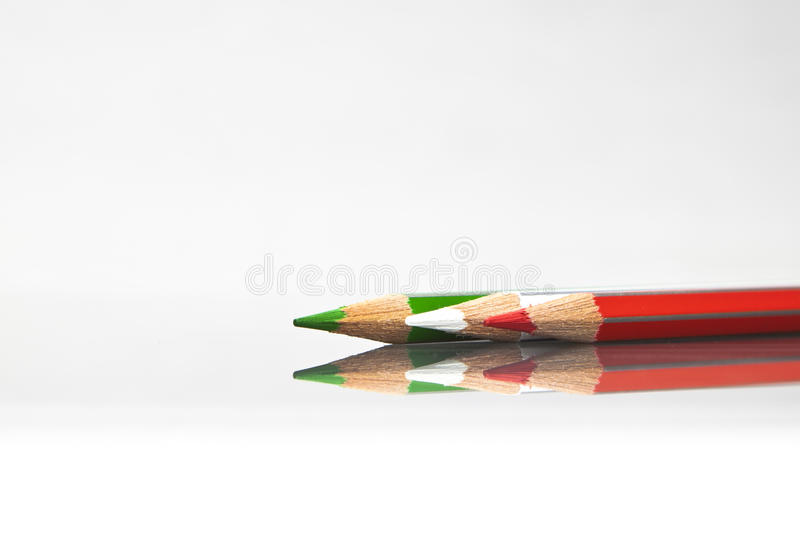 Download Coloured pencil stock image. Image of paints, yellow - 19868245