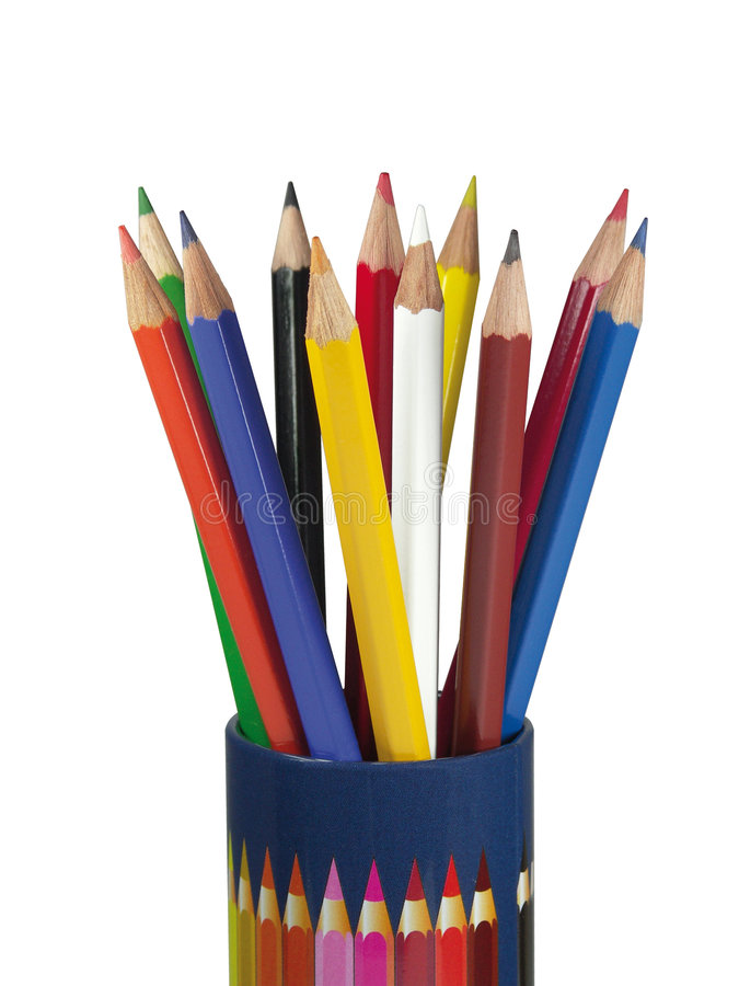 Free Coloured Pencils Stock Photo - 2502130