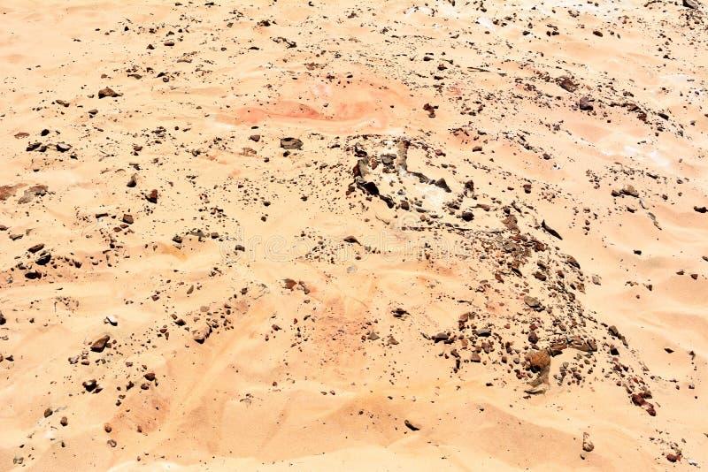 Coloured piasek tęczy plaża w Queensland obrazy royalty free
