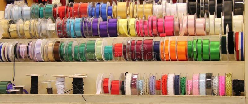 Coloured Ribbon. royalty free stock photos