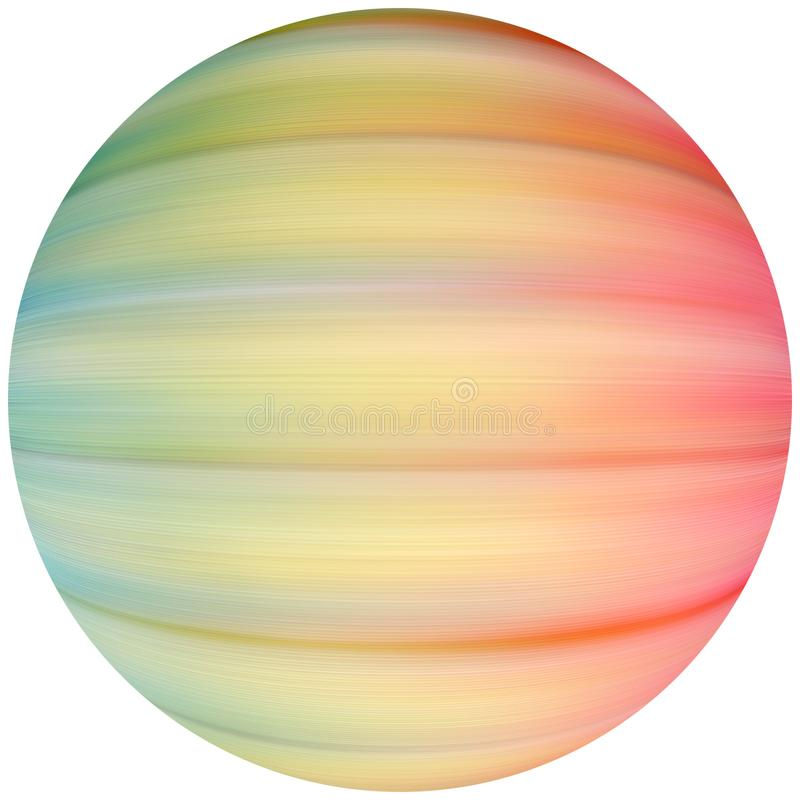 Coloured Sphere Free Stock Photography