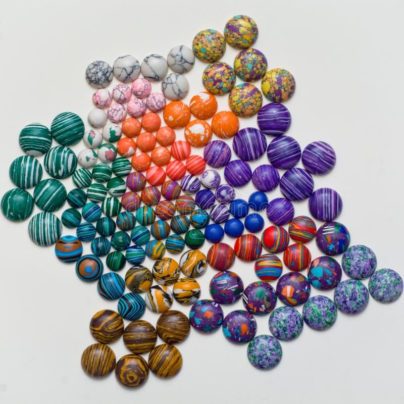 Coloured stones stock image. Image of rainbow, texture - 35042113