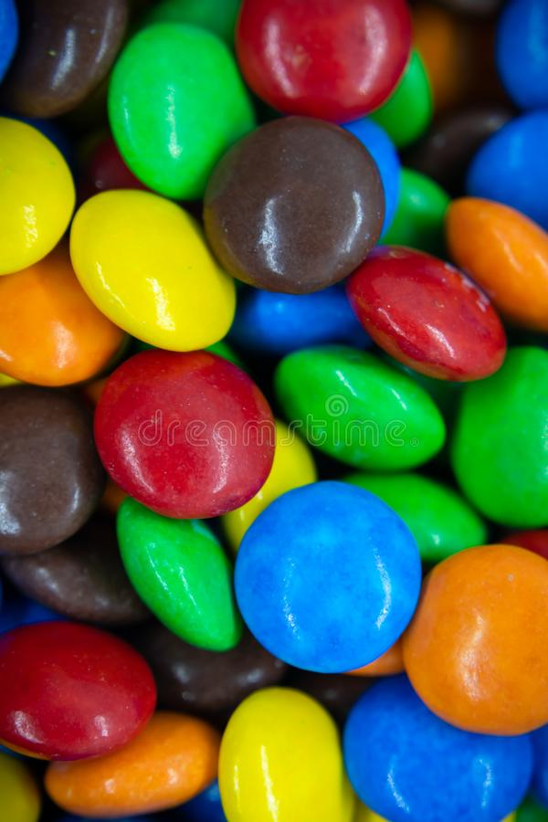 Coloured sweet candy. stock photography
