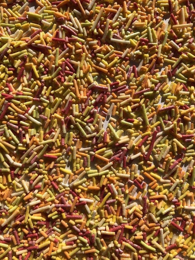 Colourful abstrakt textured tło błyszczący kropi fotografia stock