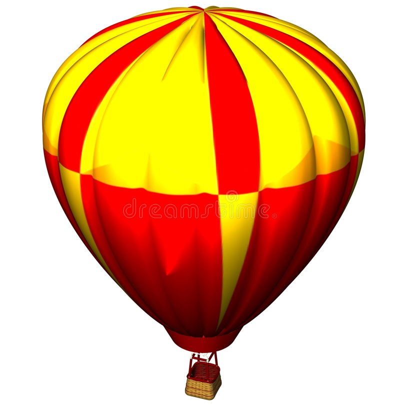 Download Colourful air balloon stock illustration. Image of free - 2683801