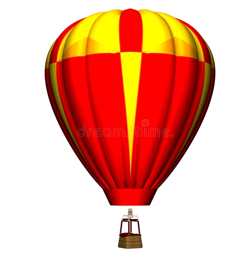 Download Colourful air balloon stock illustration. Illustration of flying - 2683806
