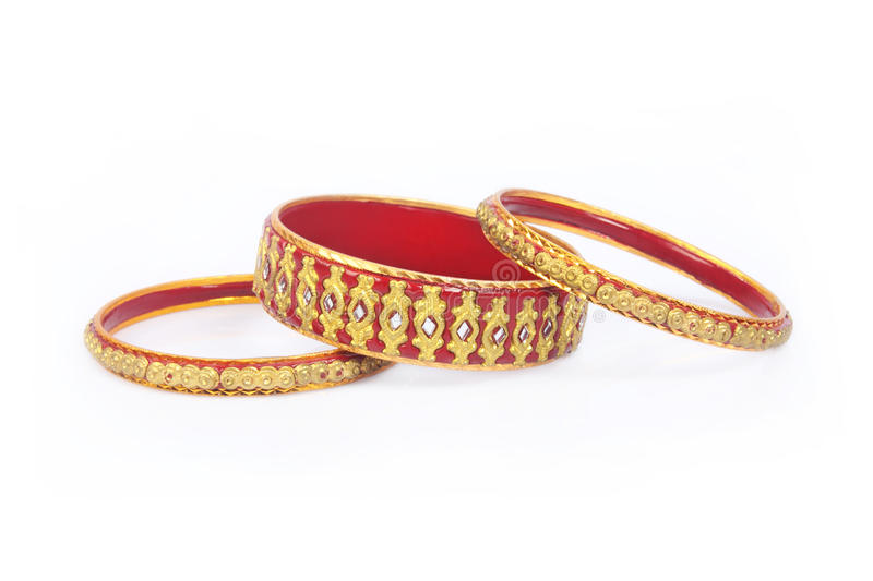 Colourful Bangles Royalty Free Stock Images