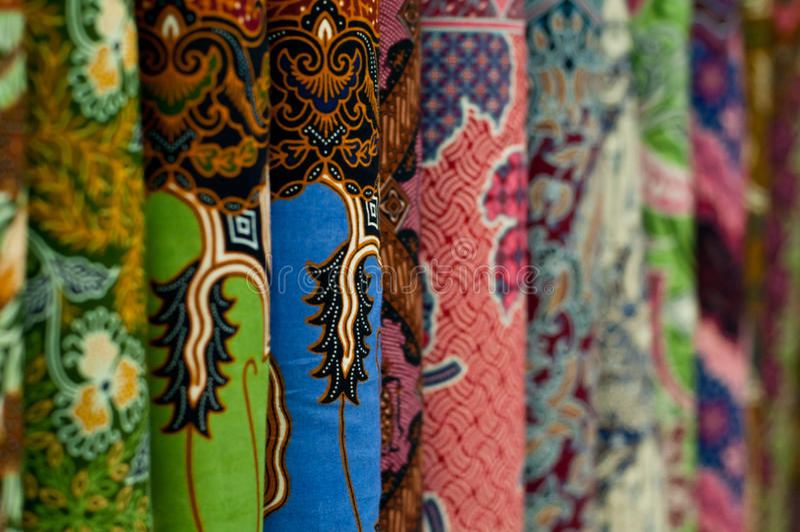 Colourful Batik royalty free stock images