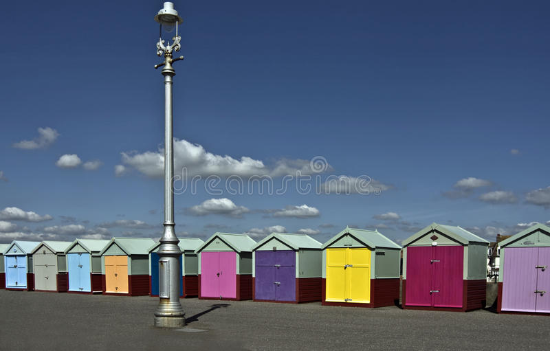 Download Colorful beach huts stock image. Image of huts, sunny - 15960813