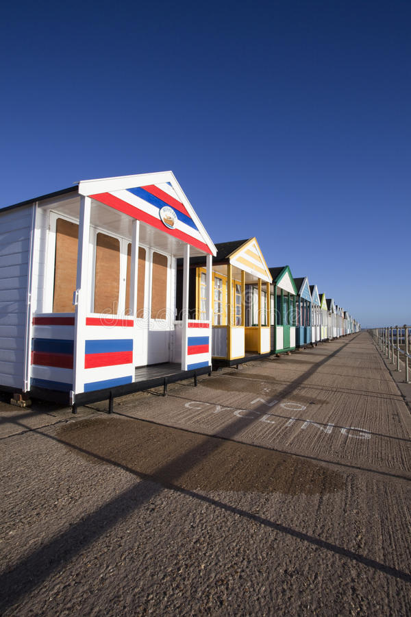Download Colourful Beach Huts At Southwold, Suffolk, England Editorial Photography - Image: 34884407
