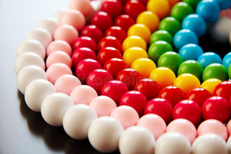 Colourful bead stock photo