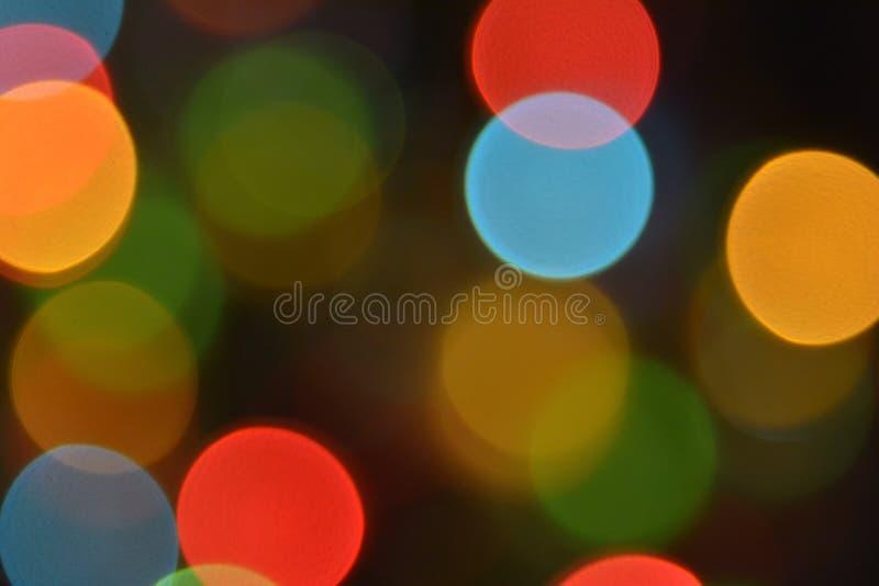 Colourful bokeh. Colorful bokeh, red, yellow, blue, green stock photo