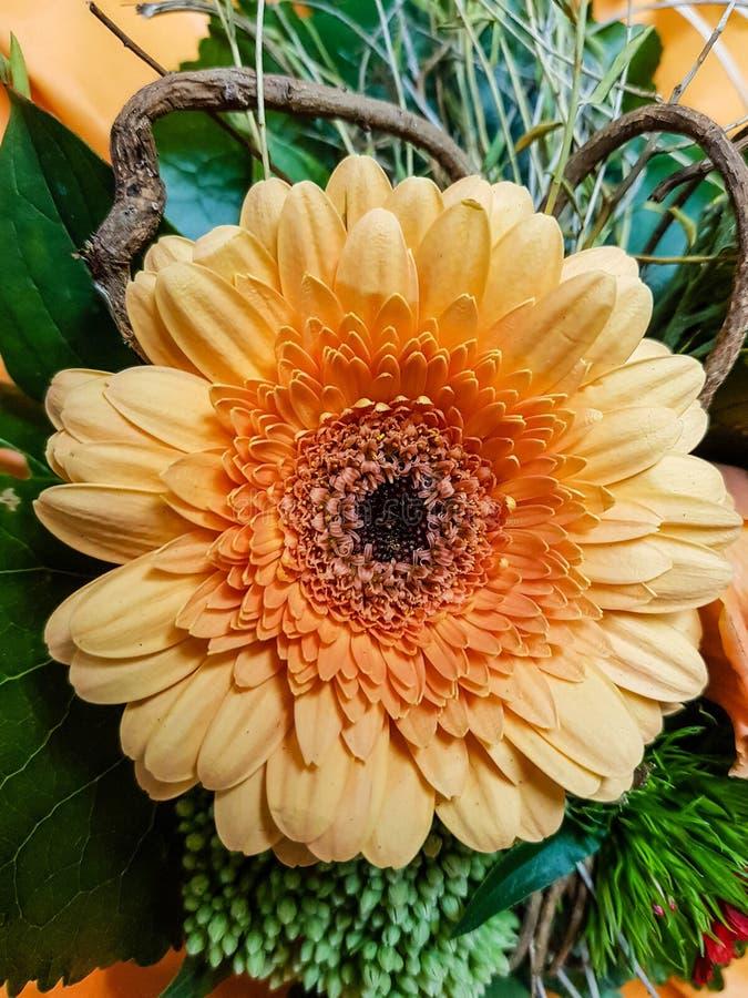 A flower bouquet. A colourful bouquet for the bride stock photos