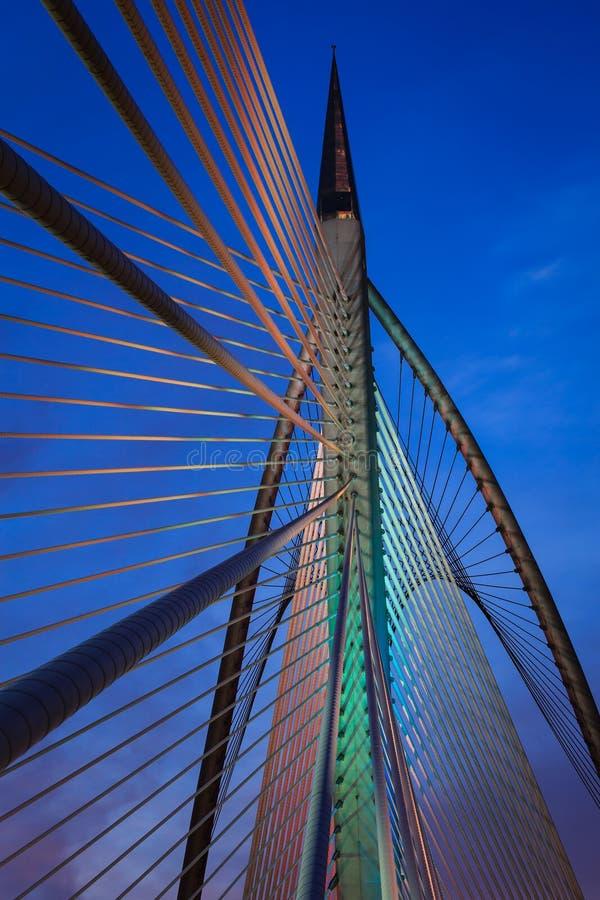 Colourful Bridżowa architektura zdjęcia stock