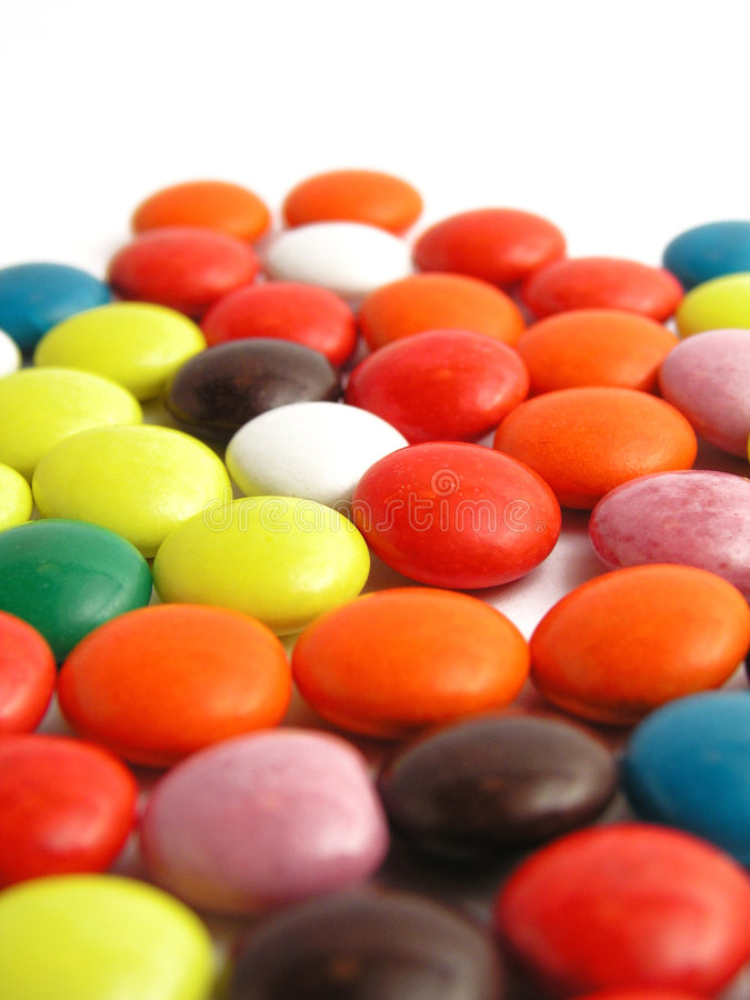 Colourful candy stock photo