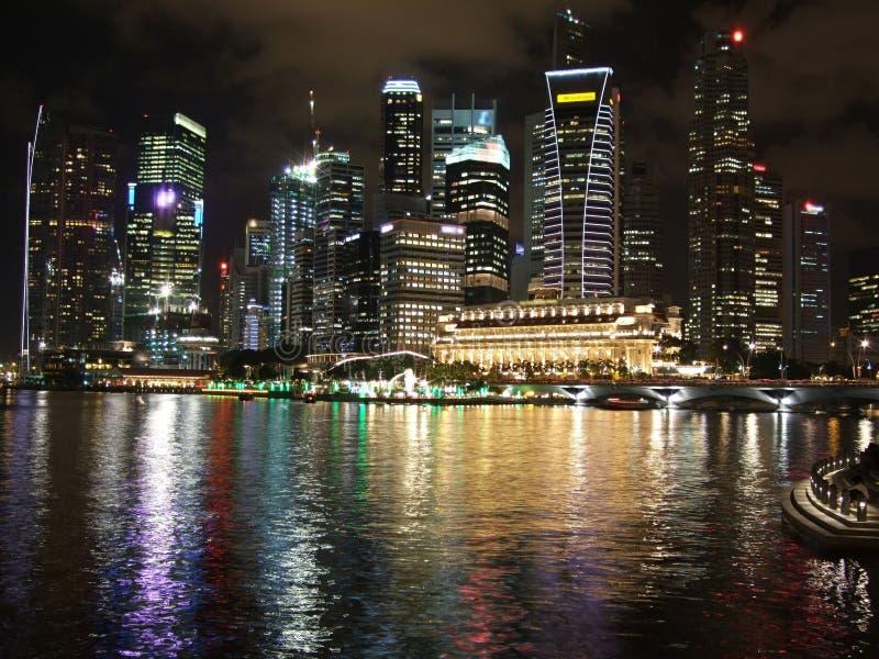 Download Colourful Cityscape At Marina Bay Stock Photo - Image: 13795068