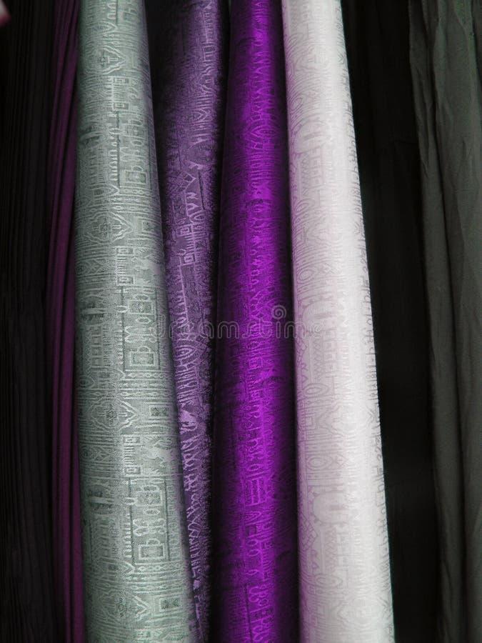 Download Colourful cloth fabrics stock photo. Image of colourful - 1366634