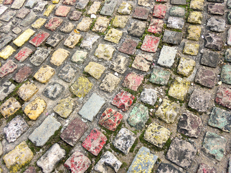 Download Colourful Cobblestones Royalty Free Stock Image - Image: 16471686