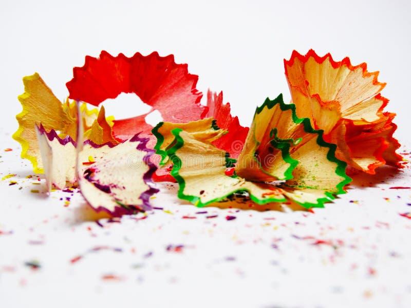 Colourful della matita di colore NESSUNA 2 immagini stock libere da diritti