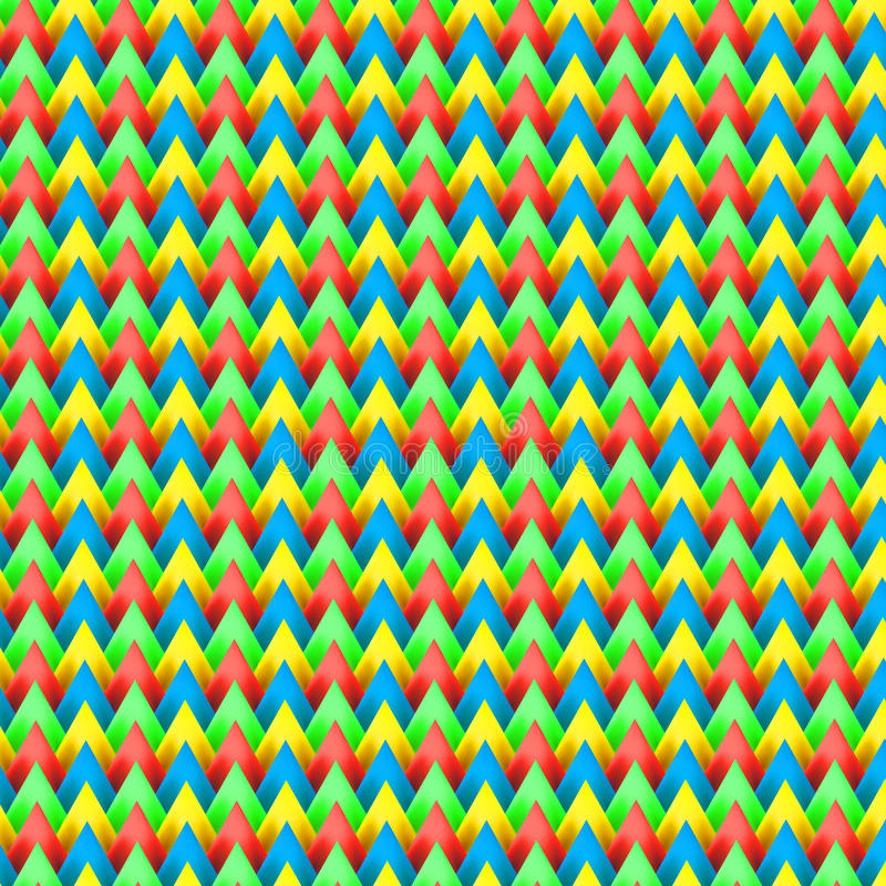 Colourful deseniowy backpacker zdjęcia stock