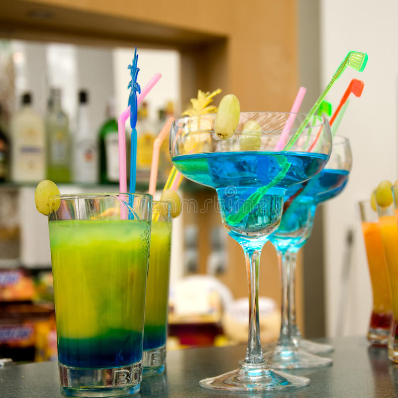 Colourful Drinks Stock Photo. Image Of Glass, Alcohol