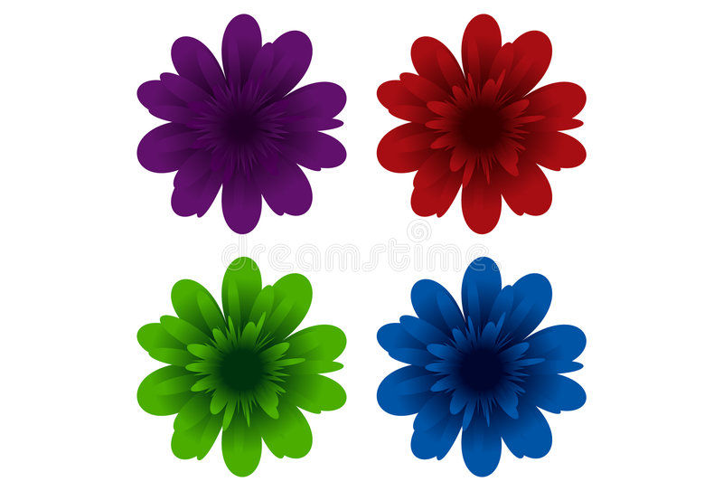 Colourful Flowers royalty free stock images